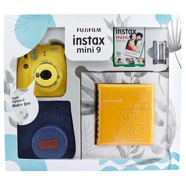 Fujifilm instax mini 9 Kit Sari Renkli